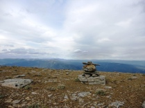 Inukshuk at the top